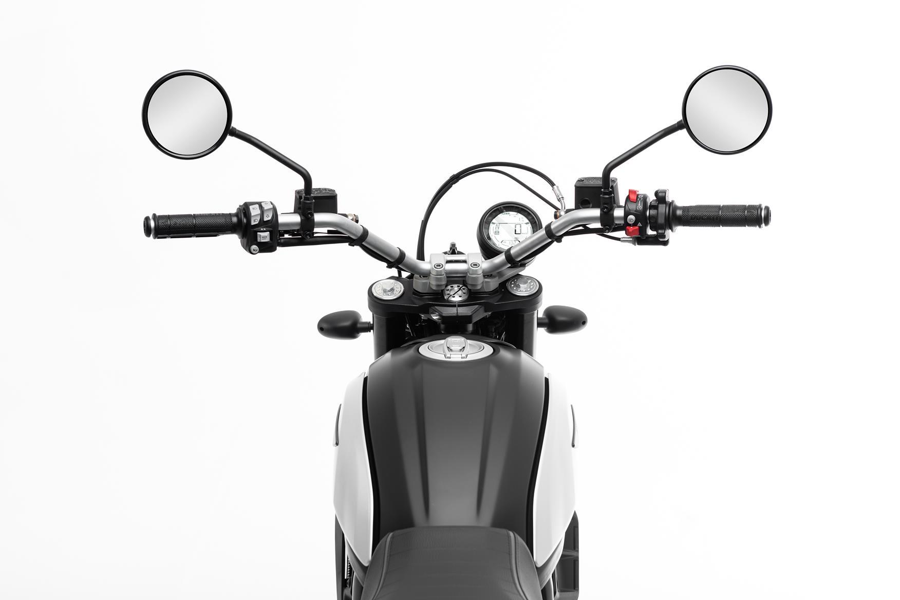 Ducati Scrambler Icon Dark clocks